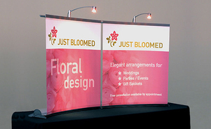 table top displays - quick, easy, convenient