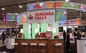 Niagara Falls trade show booth by Skyline Toronto