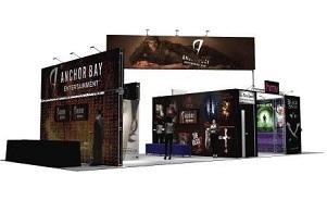 Anchor Bay trade show exhibit design by Skyline Toronto