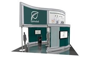Quindell trade show exhibit design