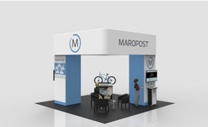 MaroPost island exhibit design WindScape air powered towers