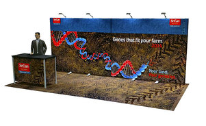 SeCan Inline Displays for trade shows and events