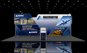 Macrodyne Inline Displays for Exhibitions