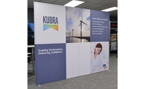 Kubra portable trade show display