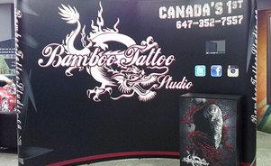 Bamboo Tattoo Studio Portable Display