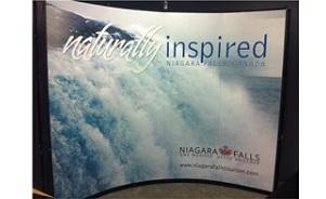 Niagara Falls pop up trade show display