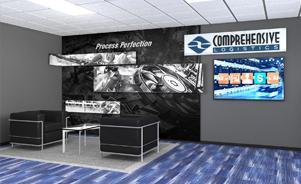 Comprehensive Logistics Trade Show Booth