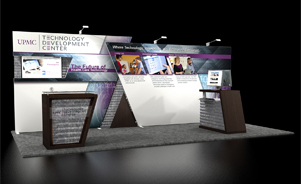 UPMC Technology Development Center Trade Show Booth