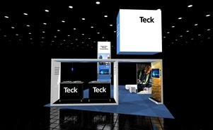 Teck-20 X 20 island trade show exhibit Skyline BC Vancouver Canada