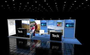 Teck-10x30 design trade show booth Skyline BC