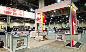 Skyline Exhibits of Central Ohio - Trade Show Exhibit Display Case Study - MAC TOOLS - Ohio