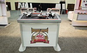 Skyline Exhibits of Central Ohio - Trade Show Exhibit Display Case Study - MAC TOOLS - Ohio