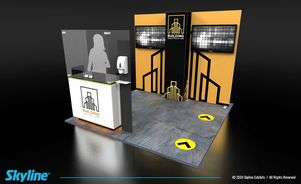 designing your inline trade show booth for safety after covid19