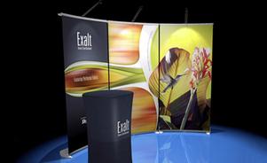banner stand - Exalt® banner stand