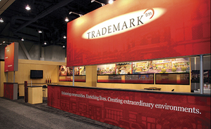 lightweight trade show displays - less is more