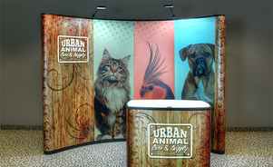 pop-up trade show displays