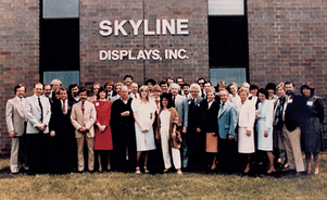 trade show exhibit Skyline history