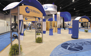 trade show events exhibits tube system brand