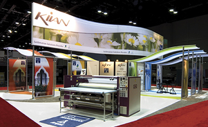 trade show events exhibits tube system portfolio