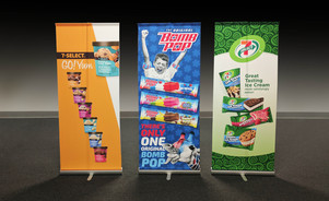 Wells Enterprises Banner Stand