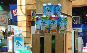 Vita Coco New York Skyline Trade Show Services