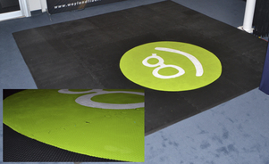 flooring, carpet logos, design, rubber colors printed