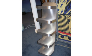 custom built or skyline exhibits trade show parts