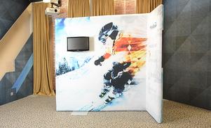 trade show events exhibit windscape monitor