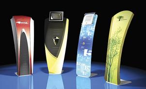 Skyline New York Portable Displays example