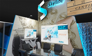 trade show events exhibits skyrise design