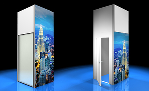 trade show events exhibits skyrise doors