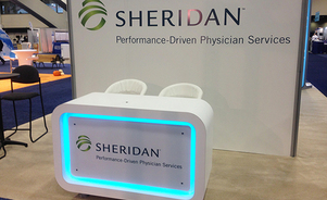 trade show events exhibits tables custom lighting