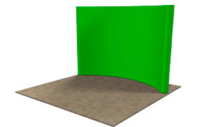 10' Mirage® Green Screen