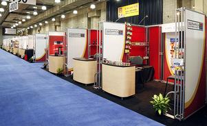 Kiosques d'exposition modulaires - Location de stands modulaires
