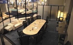 Kiosques d'exposition personnalisables - Salles de conférence