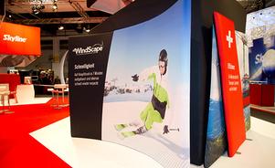 Kiosques d'exposition personnalisables - Système d'exposition WindScape®