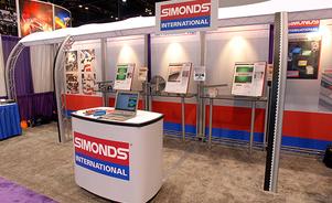 exhibiciones modulares para ferias de negocios – soporte estructural