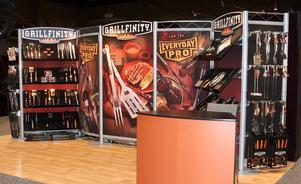 exhibiciones modulares para ferias de negocios – merchandising