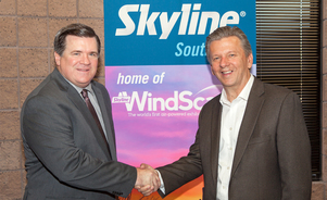 President of Skyline Exhibits Welcomes David Byram, Managing Director of Skyline Southwest's Office to the Skyline Dealer Network