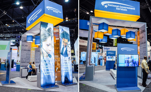 Skyline Metro DC VA MD has Exhibit Designers that Create Custom, Impressive Trade Show Designs for any Size Display