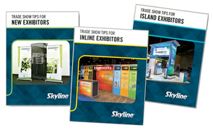 Skyline Metro DC VA MD offers free Trade Show White Papers for New Exhibitors, Inline Exhibitors and Island Exhibitors