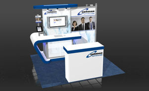 Skyline Southeast Ceridian 10x10 trade show booth