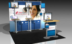 Skyline Southeast Innosource 10x10 trade show booth