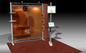 Skyline Southeast Syntellus 10x10 trade show booth