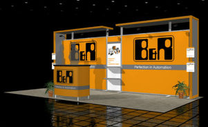 Skyline Southeast B & R Industrial 10x20 trade show booth