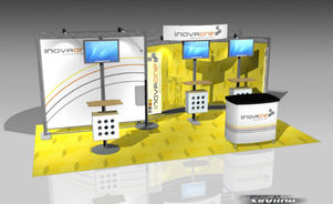 Skyline Southeast Inova 10x20 trade show booth