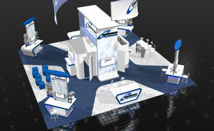 Skyline Southeast Ceridian 40x40 trade show booth