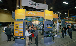 Skyline Southeast CMP trade show booth