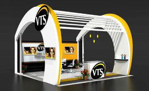 Skyline Southeast VTS Group Opt trade show booth