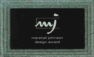 Marshall Johnson Design Award